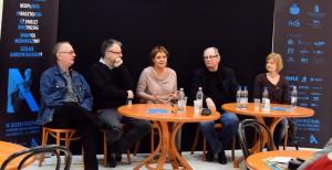 Spiró György, Máté Gábor, Pászt Patrícia, Witold Debicki, Aldona Figura Fotók: Máthé András