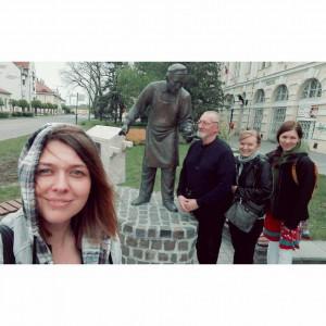 Edelényi Vivien, Bicskei István, Kubik Anna és Varga Klári