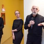 Pornó Fornvald Gréti és Visky András térinstallációjának megnyitója, a fesztivál megnyitója
