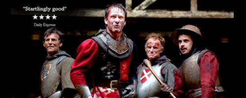 Véres csatatéren landol a Shakespeare-időgép: V. Henrik