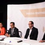 XII. DESZKA Fesztivál sajtótájékoztatója