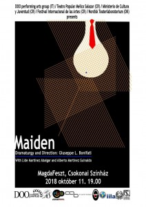 Maiden poster MagdaFeszt