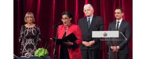 Debreceni elismerés Ráckevei Annának