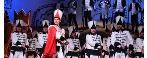 A debreceni Háry János az Erkel Színház repertoárján