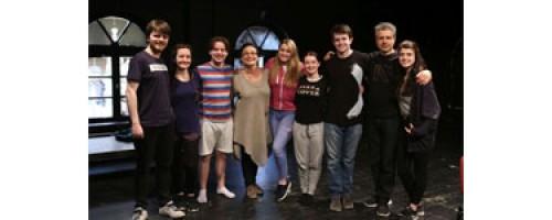 Fiatal ír színészek jártak nálunk