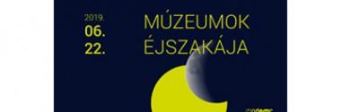 Mercs János tárlatvezetése a Múzeumok Éjszakáján