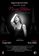 Milosevits-Rusz: Párizs hídjai – Edith Piaf-est