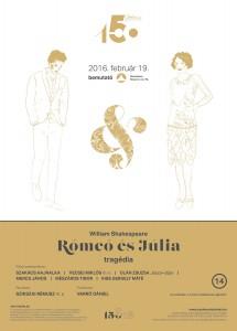 Rómeó és Júlia premier plakat_
