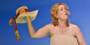 Shirley Valentine szerepében Majzik Edit (Nagy Gábor fotói)