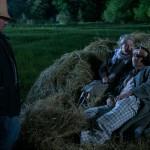 Vidnyánszky Attila rendező beállít egy jelenetet (éjszaka)