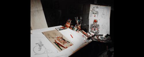 Úton – kiállítás a Vojtina Bábszínházban